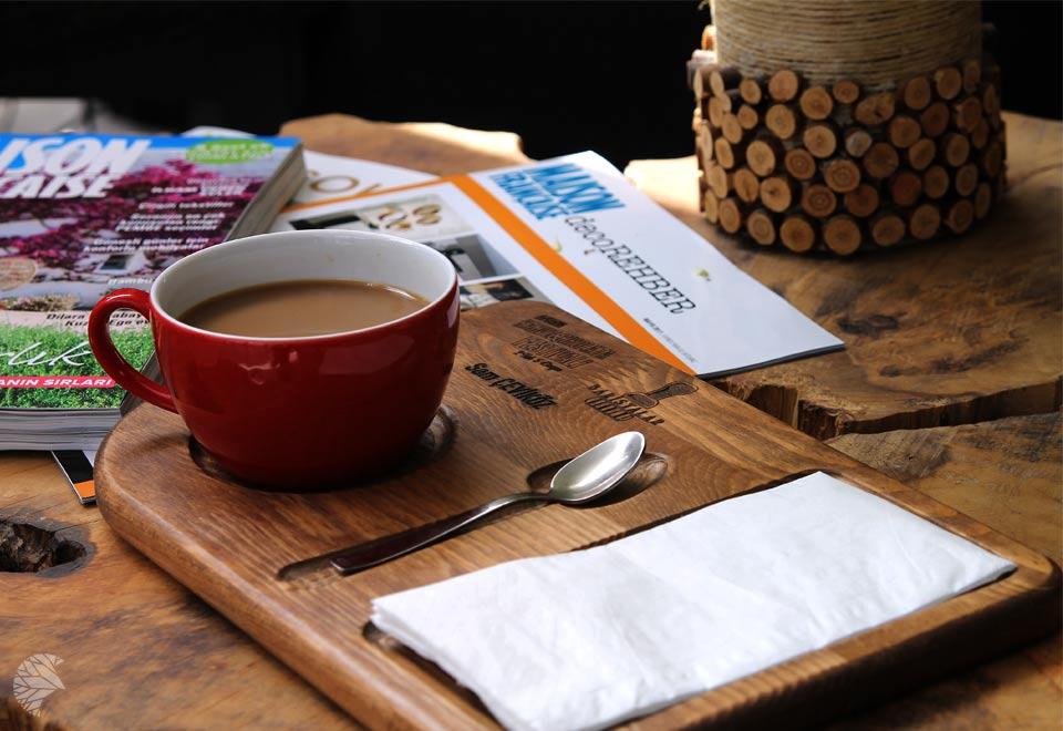 ahşap cafe ve restoran ekipmanları